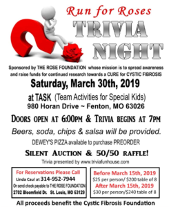 Trivia Night 2019 @ TASK (Team Activities for Special Kids) | Fenton | Missouri | United States